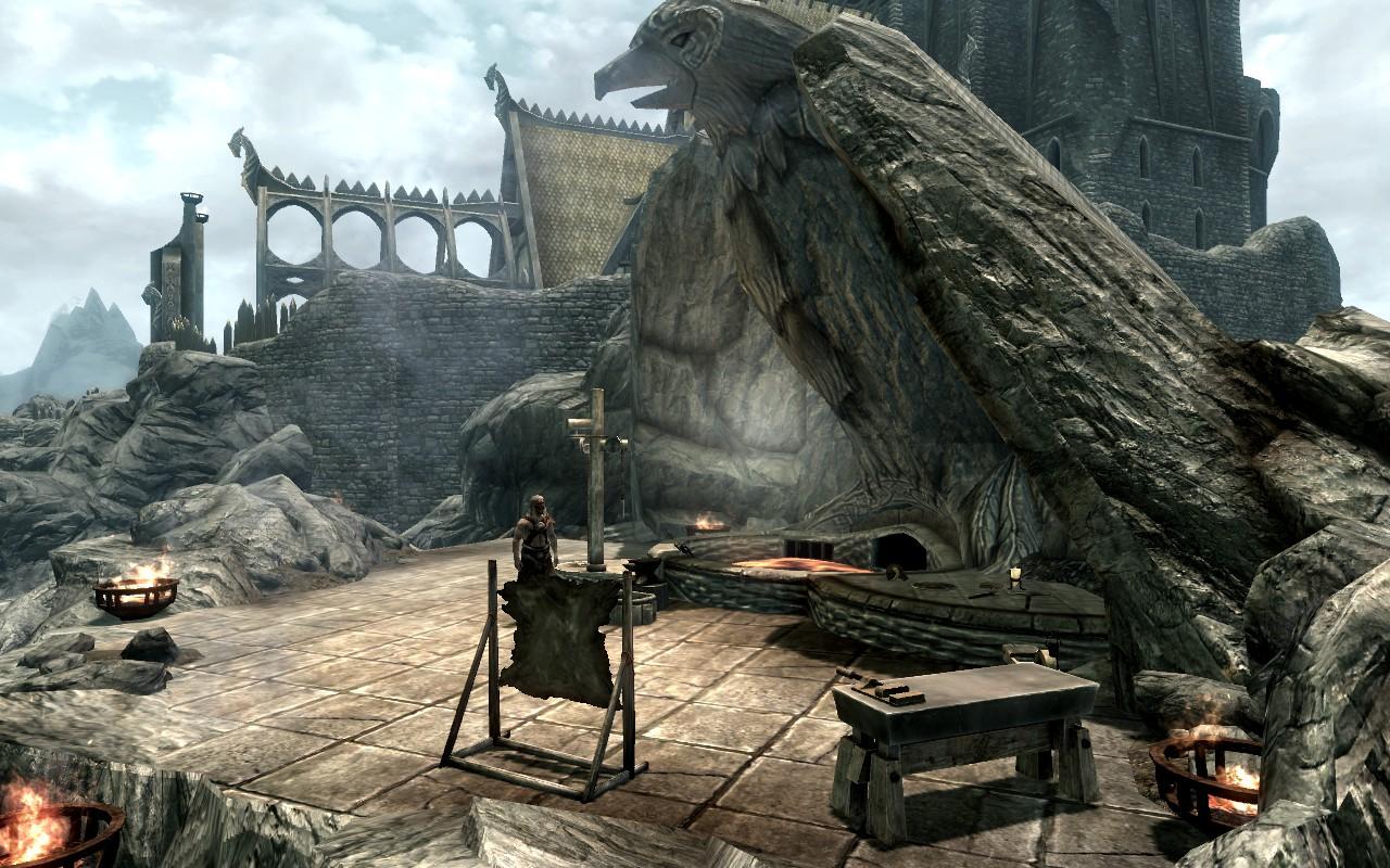 Blacksmithing Skyrim