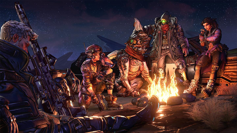 Borderlands 3 Team Camp