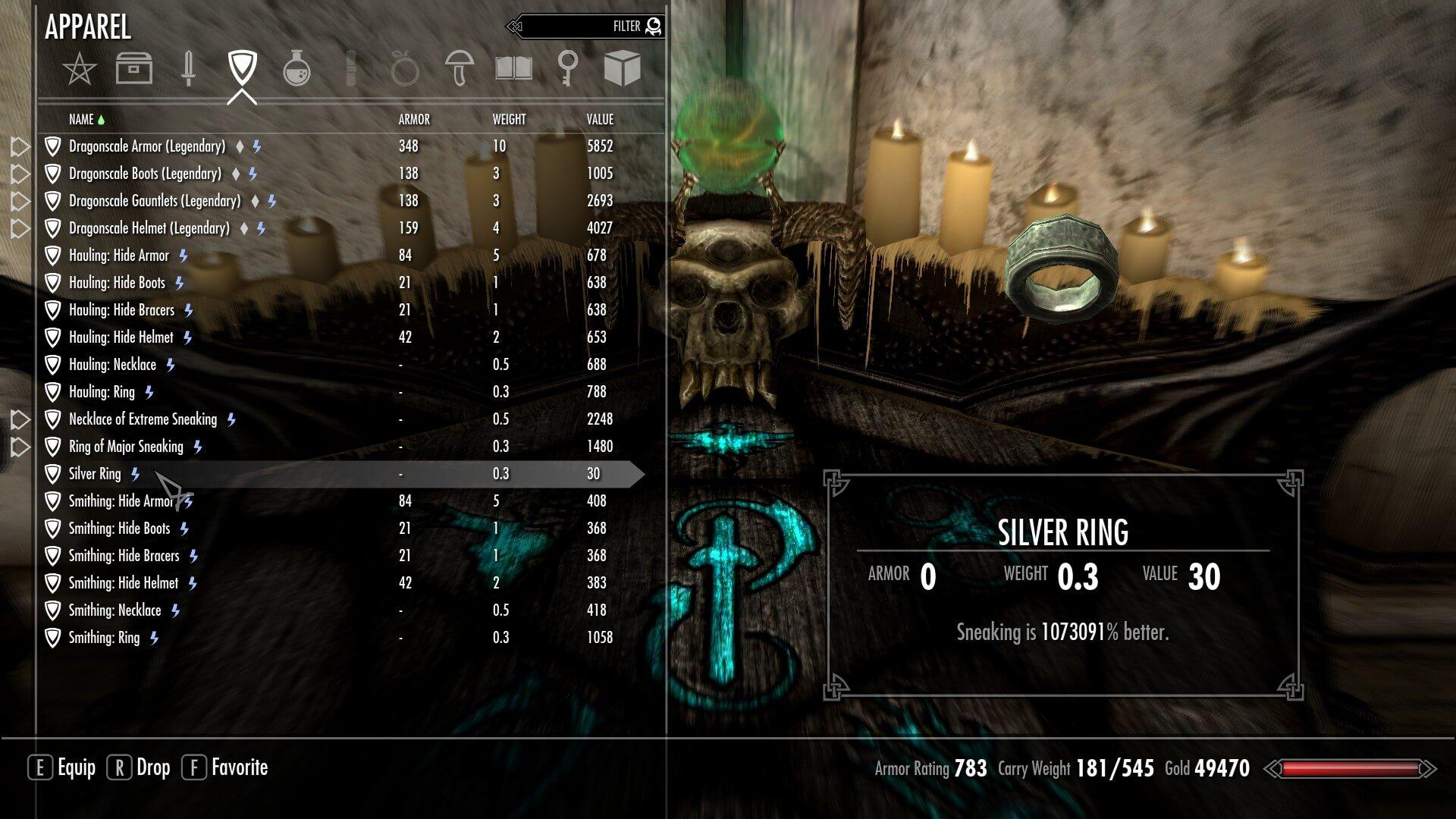 Best skyrim legendary skills