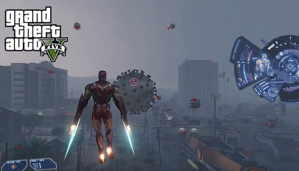 GTA 5 Mods Iron Man