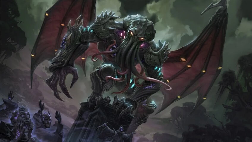 SMITE's new character Cthulhu