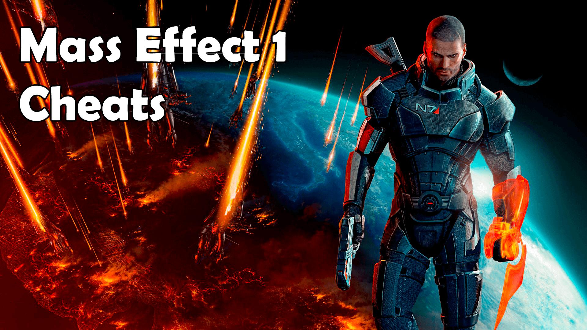 Mass Effect 1 Cheats
