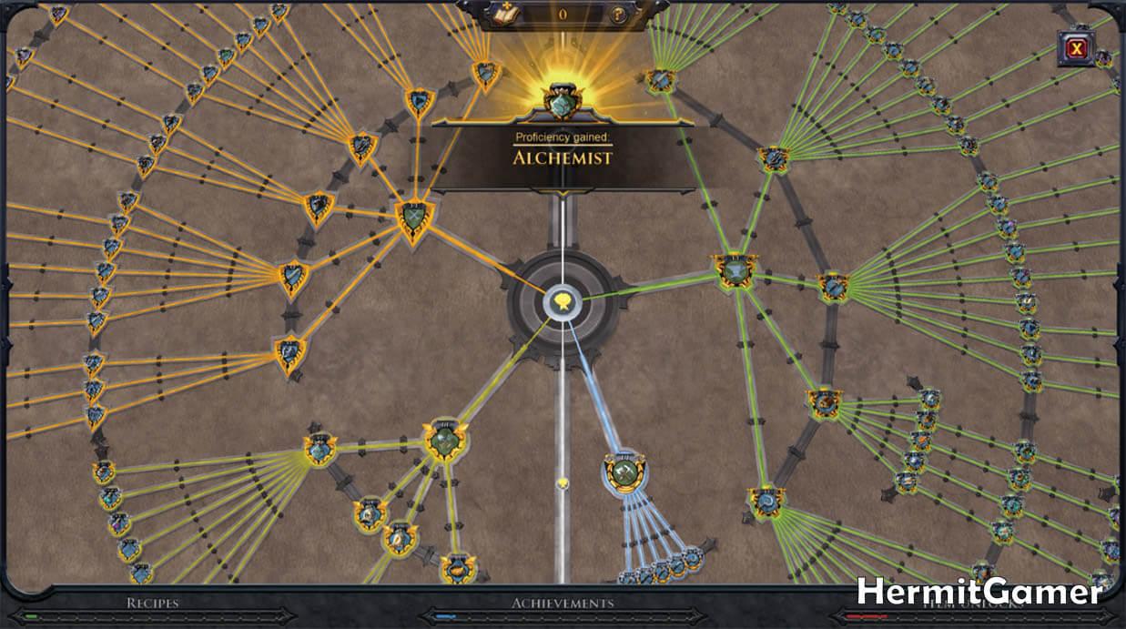 Albion Online Destiny Board