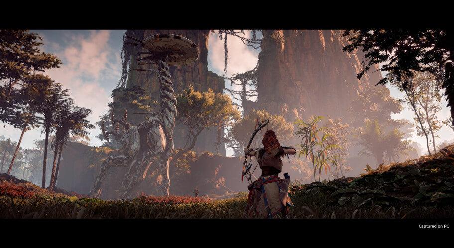 Horizon Zero Dawn Game Screen