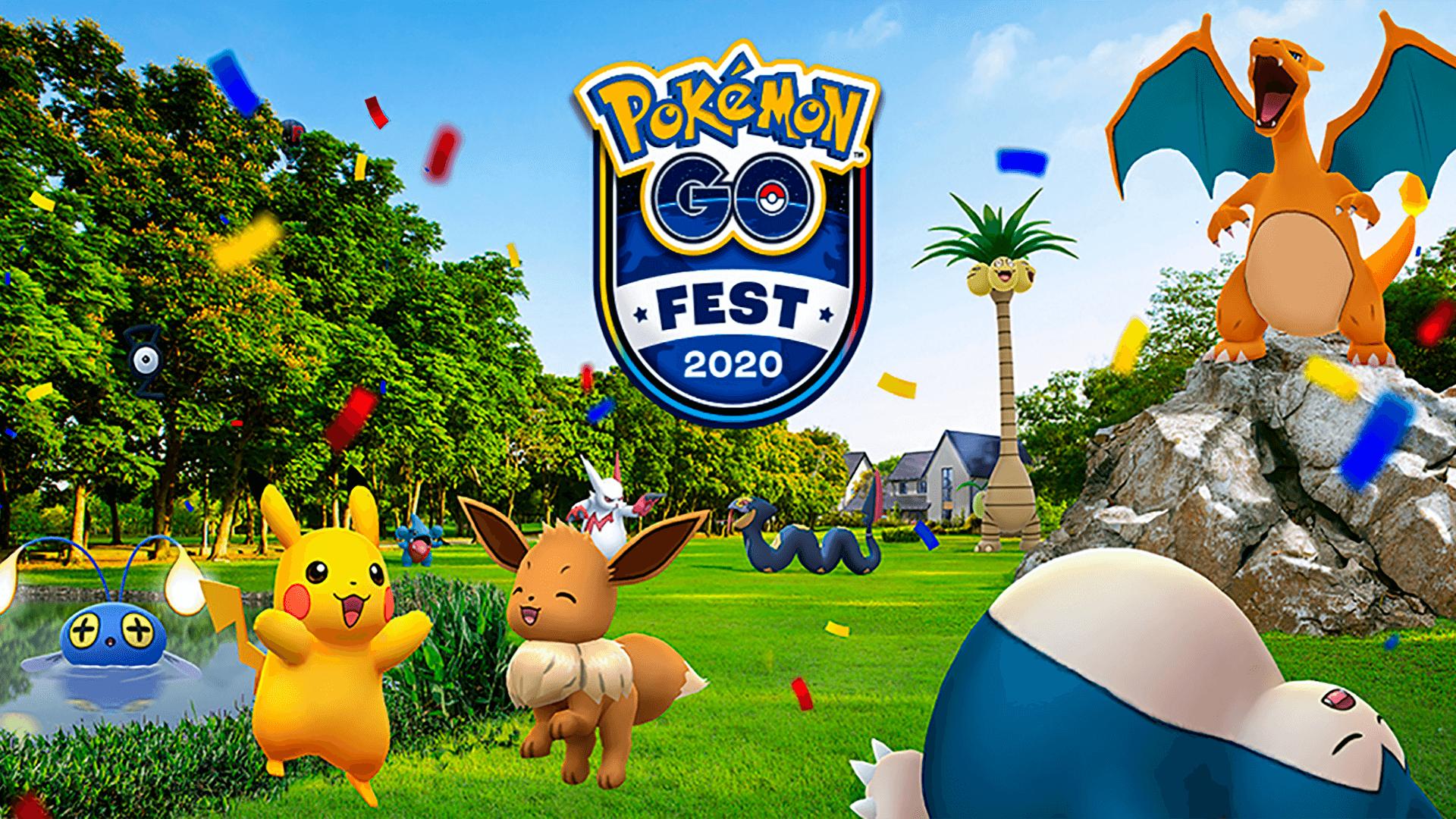 Pokemon Go Fest 2020 Poster