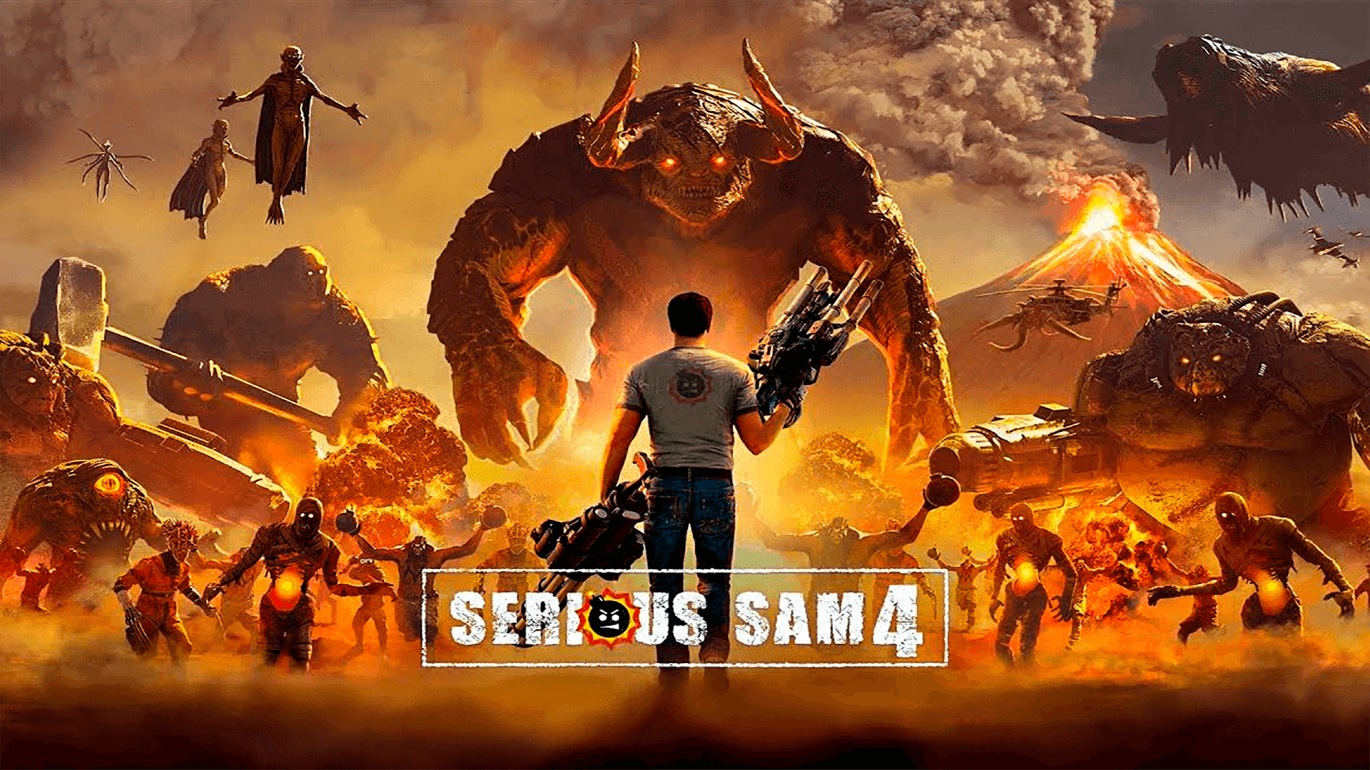 Serious Sam 4 Poster