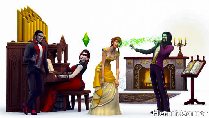 Vampires Sims 4
