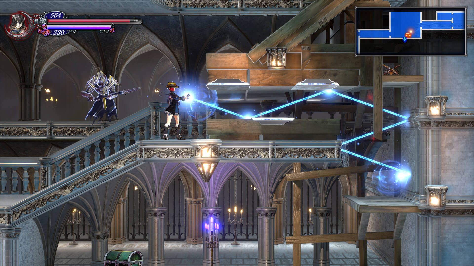 Bloodstained Ritual of the Night abilities