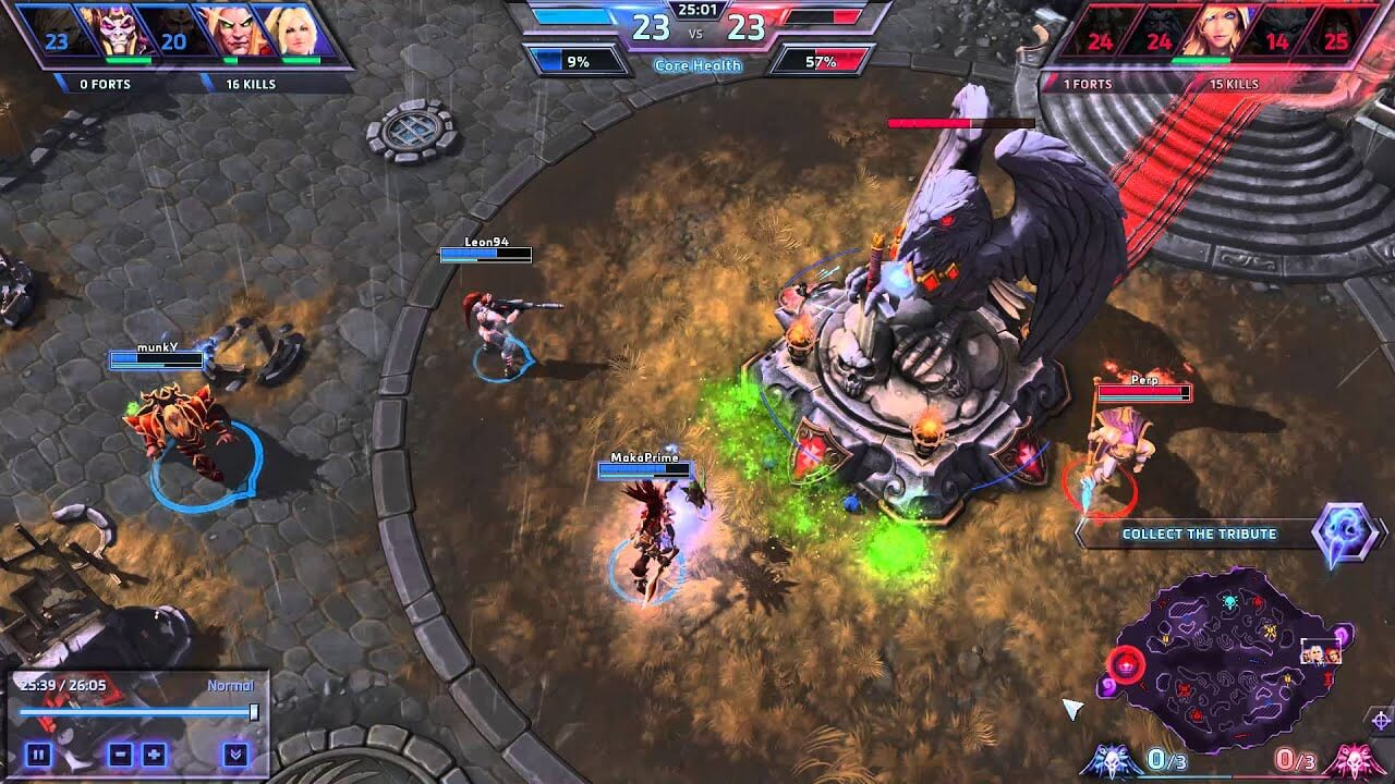Heroes of The Storm Base