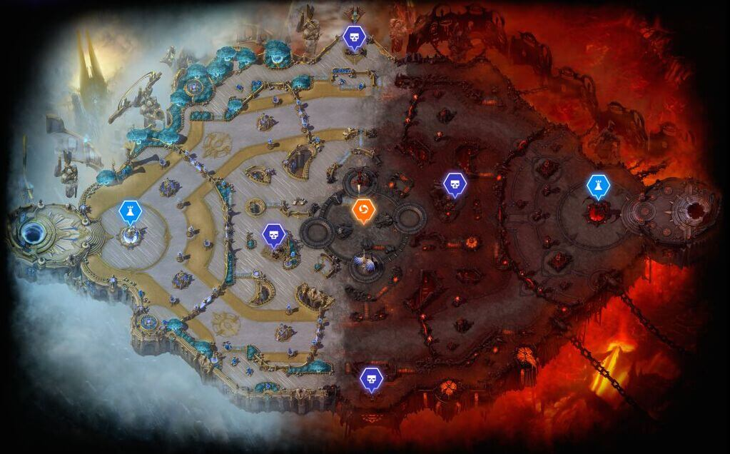 Heroes of the Storm Map
