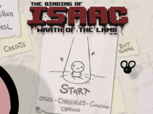 The Binding of Isaac Beginning of the game
