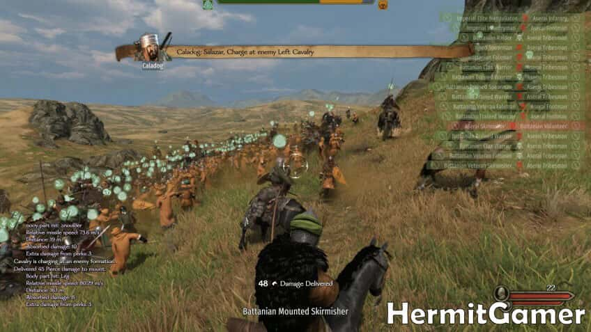 Mount & Blade 2 Bannerlord battle