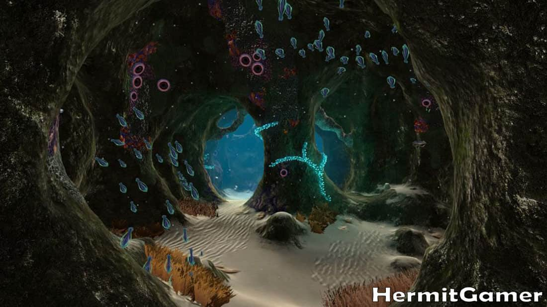Subnautica Mushroom Forest Cave