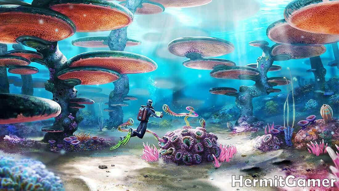 Subnautica Mushroom Forest