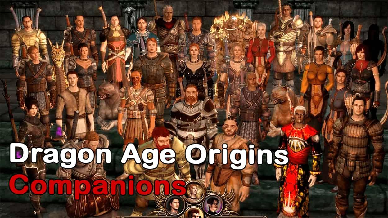 Dragon Age Origins Companions