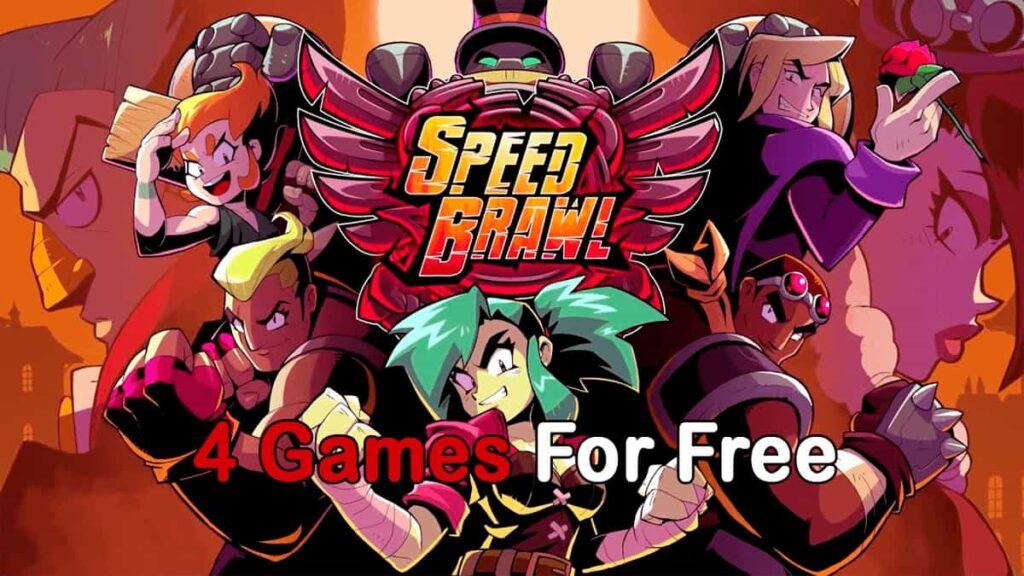 4 Games for Free by the 26 of September