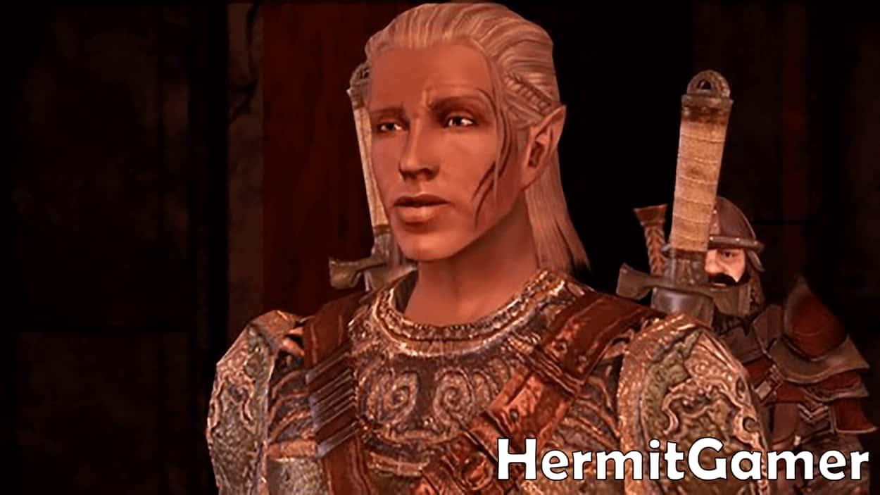 Zevran Dragon Age Origins Companion